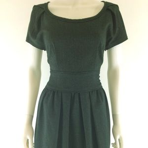 Silence + Noise Denim Look Fit & Flare Dress